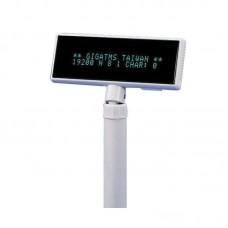Дисплей покупателя Promag/Gigatek DSP-840 / COM, белый, DSP840B