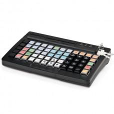 Программируемая клавиатура  Атол KB-60-U (rev.2) черная c ридером магнитных карт на 1-3 дорожки