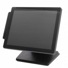 """Монитор POS150 (15"""", 4:3, P-CAP touch, DVI, VGA, MSR) черный (аналог EVA-150)"""
