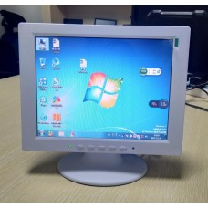 "Монитор POScenter 10,4""(TFT/800*600/400:1/250-400 cd/m2/ 60-75 Hz/VGA-кабель 3м/БП12V 1,5м/RUS), белый"